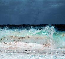Stormy Maroubra Beach by Chris Hood