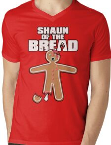 Shaun Of The Dead (Shaun Of The Bread) Mens V-Neck T-Shirt