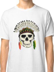 Skull Headdress Classic T-Shirt
