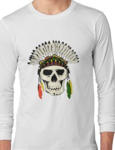 Skull Headdress Long Sleeve T-Shirt