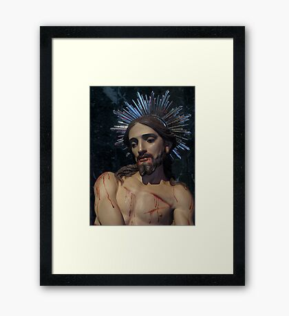The Scourging At The Pillar Framed Print