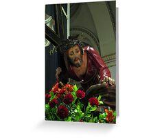 Kristu Redentur Greeting Card