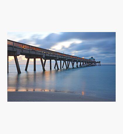 Pier in Deerfield Beach, 2 Photographic Print