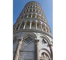 Leaning Tower in Pisa angle shot Photographic Print