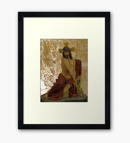 Ecce Homo Framed Print