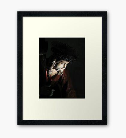 Cristo Redentore Framed Print