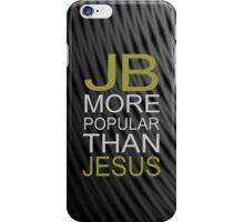 Justin Bieber iPhone case- JB is more popular than jesus iPhone Case/Skin