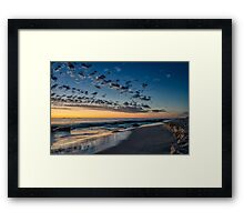 After the Sun Goes Down Framed Print