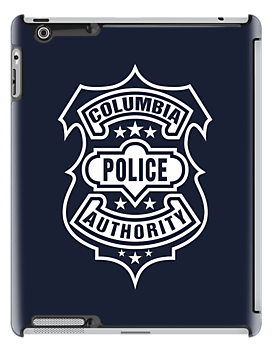 Columbia Police Authority (White) by Olipop