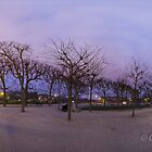 Champ de Mars at sunset. by Gideon van Zyl