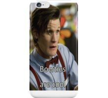 Bowties are Cool. iPhone Case/Skin