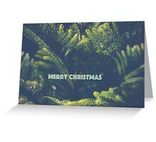 """Pine Christmas Card """"Merry Christmas"""" Greeting Card"""