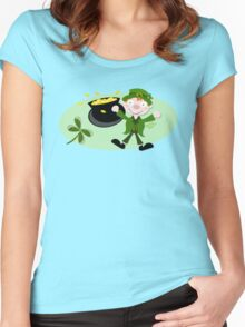 Paddys Day Women's Fitted Scoop T-Shirt