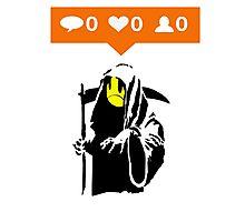 Deaths Social Media Photographic Print