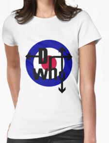Doctor The Who  Womens Fitted T-Shirt