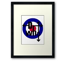 Doctor The Who  Framed Print