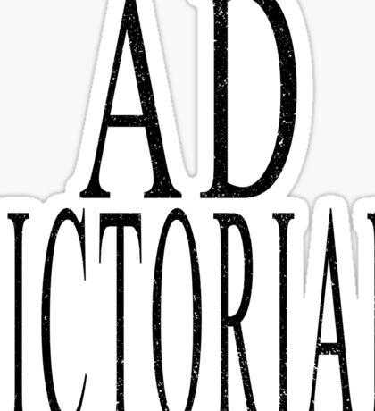 Ad Victoriam (BLK) Sticker