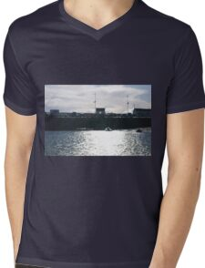 Sea Scape Mens V-Neck T-Shirt
