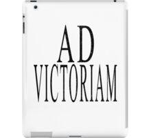 Ad Victoriam (BLK) iPad Case/Skin