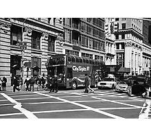 New York Street Photography 8 Photographic Print