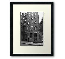New York Street Photography 9 Framed Print