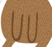 Paper Beaver Sticker