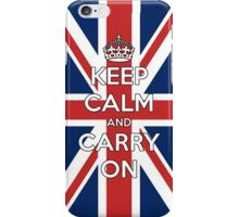 Keep Calm UK iPhone Case/Skin
