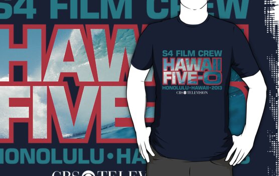 Hawaii Five-O 'S4 Film Crew' by Sharknose