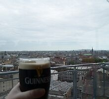 A Guinness and the best view of Dublin by MaryFoxFirebird
