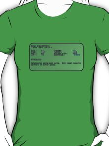 Light RPG Shirt now equipped. Stats are:... T-Shirt
