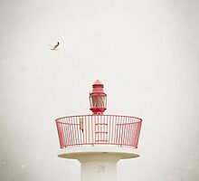 Red Lighthouse by Maggy Morrissey