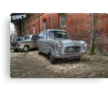 Ford Thames 100E 7CWT Van  Canvas Print