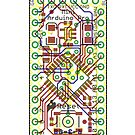 Arduino Pro Mini Reference Design - white by Rupert  Russell