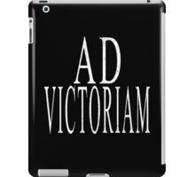 Ad Victoriam (WHT) iPad Case/Skin