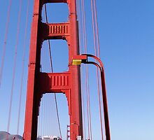 Golden Gate Tower by Barrie Woodward