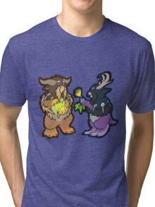 weird owls Tri-blend T-Shirt