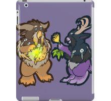 weird owls iPad Case/Skin