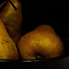 Golden Pears by Melinda Anderson