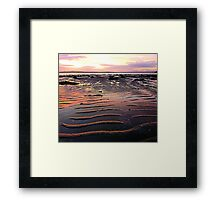 Low Tide At Mill Bay Framed Print