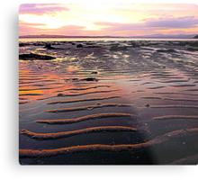 Low Tide At Mill Bay Metal Print