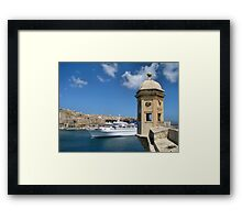 Welcome To Malta Framed Print