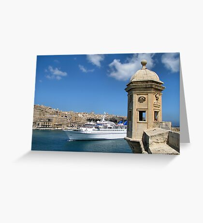 Welcome To Malta Greeting Card