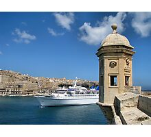 Welcome To Malta Photographic Print