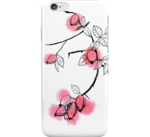 Rose hips iPhone Case/Skin