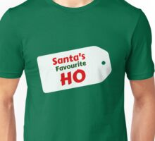 Santa's Favourite Ho Unisex T-Shirt