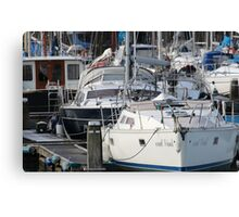 The Recreational Harbor II Canvas Print