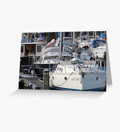 The Recreational Harbor II Greeting Card