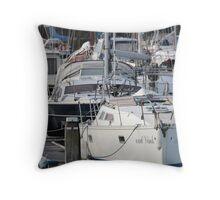 The Recreational Harbor II Throw Pillow