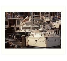 The Recreational Harbor I Art Print