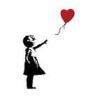 Banksy - Girl With Balloon by reg1895